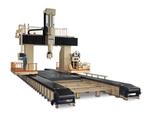NC197 Model Five Axes Simultaneous Control Gantry CNC Machining System