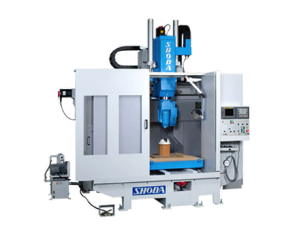 PTM-5000U model SHODA CNC router for secondary process after vacuum forming