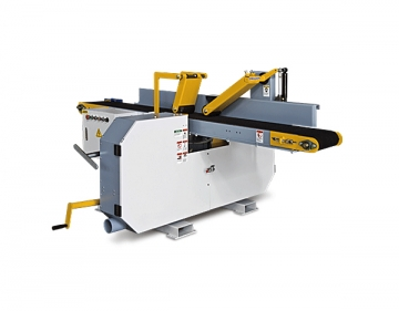 Twin head horizontal band resaw